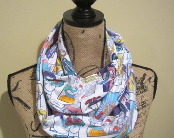 Disney Princess Comic Book Infinity Scarf