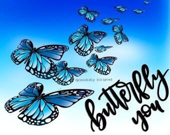 Slammed- Butterfly You digital print