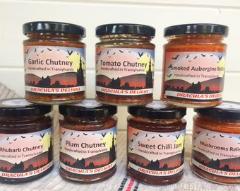 Handcrafted Jams and Chutneys Made in Transylvania ~ Food and Drink ~ Foodie gifts ~ Handmade gifts by Pivnita Bunicii #TasteTransylvania