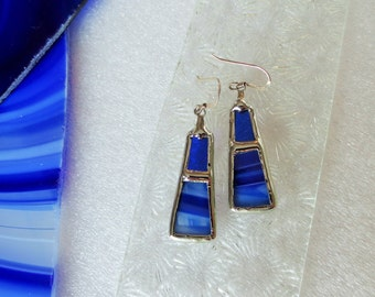 Earrings ROYAL blue