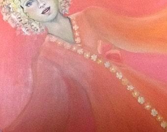 Painting Bohemian girl