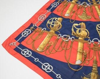 HERMÈS - silk scarf