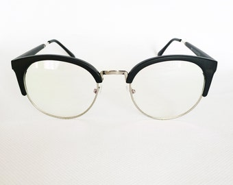 ray ban clubmaster clear  High Quality Womens Mens Ray Ban Clubmaster Clear Transparent