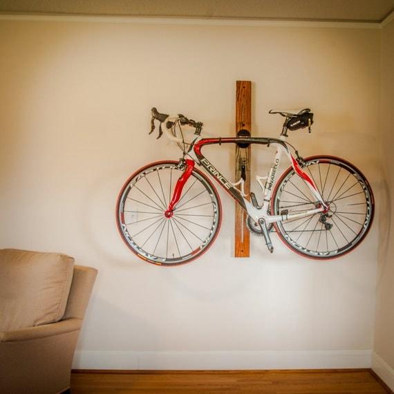 bike rack 4 adjustable horizontal wall mount for home or. Black Bedroom Furniture Sets. Home Design Ideas