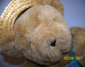 Vintage The Vermont Co Teddy Bear