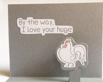 Funny Valentine Card, Naughty Valentine, Sexy Valentine, Valentines Day,  Naughty Card,