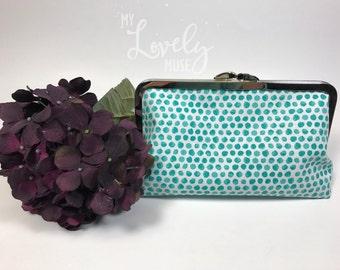 Clutch • Evening Purse • Handbag • Clasp Purse