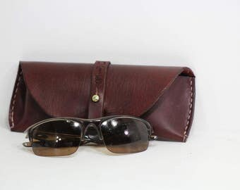 Leather Sunglass Case, Sunglass Pouch,