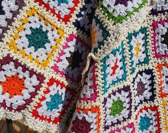 Light Jewels Granny Squares
