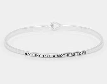 Nothing Like A Mother's Love hook bracelet