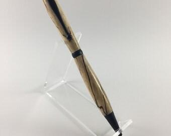 Spalted wood slimline pen