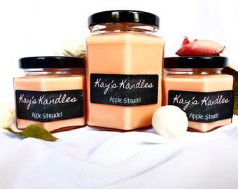 Apple Strudel - Pure Soy Candle Scented