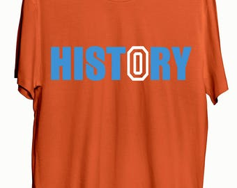 Russell Westbrook/Oklahoma City Thunder/MVP/Triple Double History T-Shirt