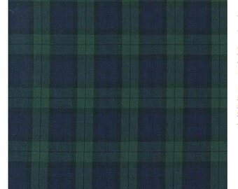 Hunter Sevenberry from Sevenberry: Classic Plaids, Robert Kaufman Half Yard