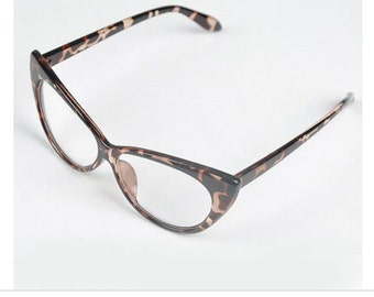 Retro Women Cat Eye Frames