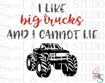 i like big trucks and i cannot lie digital file