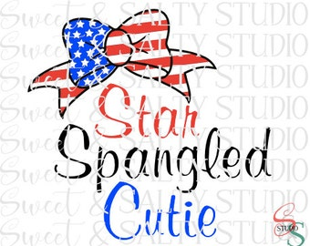 star spangled cutie digital file