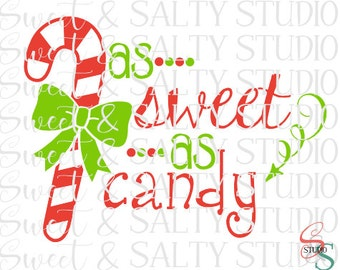 as sweet as candy cane digital file
