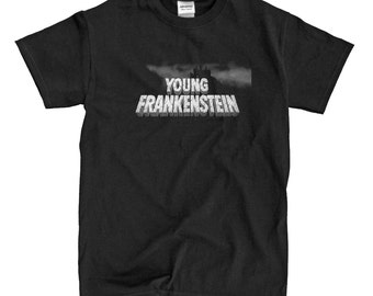 Young Frankenstein - Black T-shirt