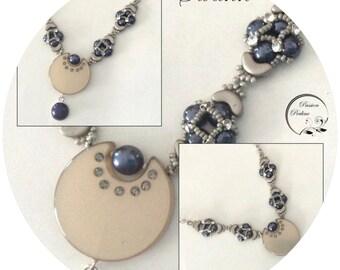 KIT diy necklace SWANN