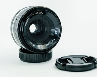Tamron Auto 35mm F2.8 Manual Focus Prime Lens for Nikon