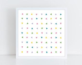 "I Like To Rave print (10x10"")"