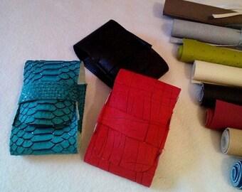 Faux leather 2 cigarette case sizes