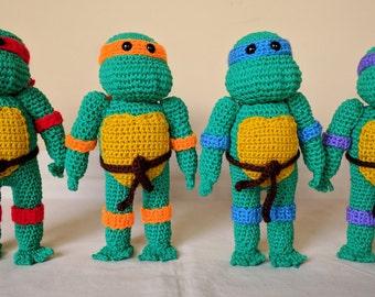 Ninja Turtle Dolls