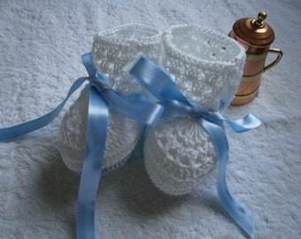 baby socks woven crochet
