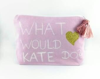 Cosmetic bag Makeup bags makeuptasche lovely Kate