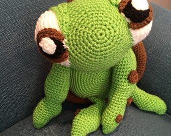 Crocheted Turtle Squirt