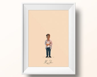Morgan Freeman - The Shawshank Redemption Poster
