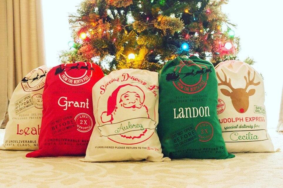 Personalized Santa Sack Santa Sack Santa Bag Christmas