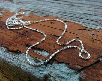 Sterling Silver Chain - 20 Inch