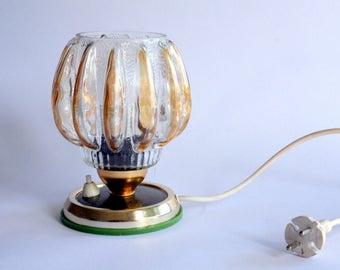 Vintage bed side light, table lamp /70's, 80's Yugoslavia