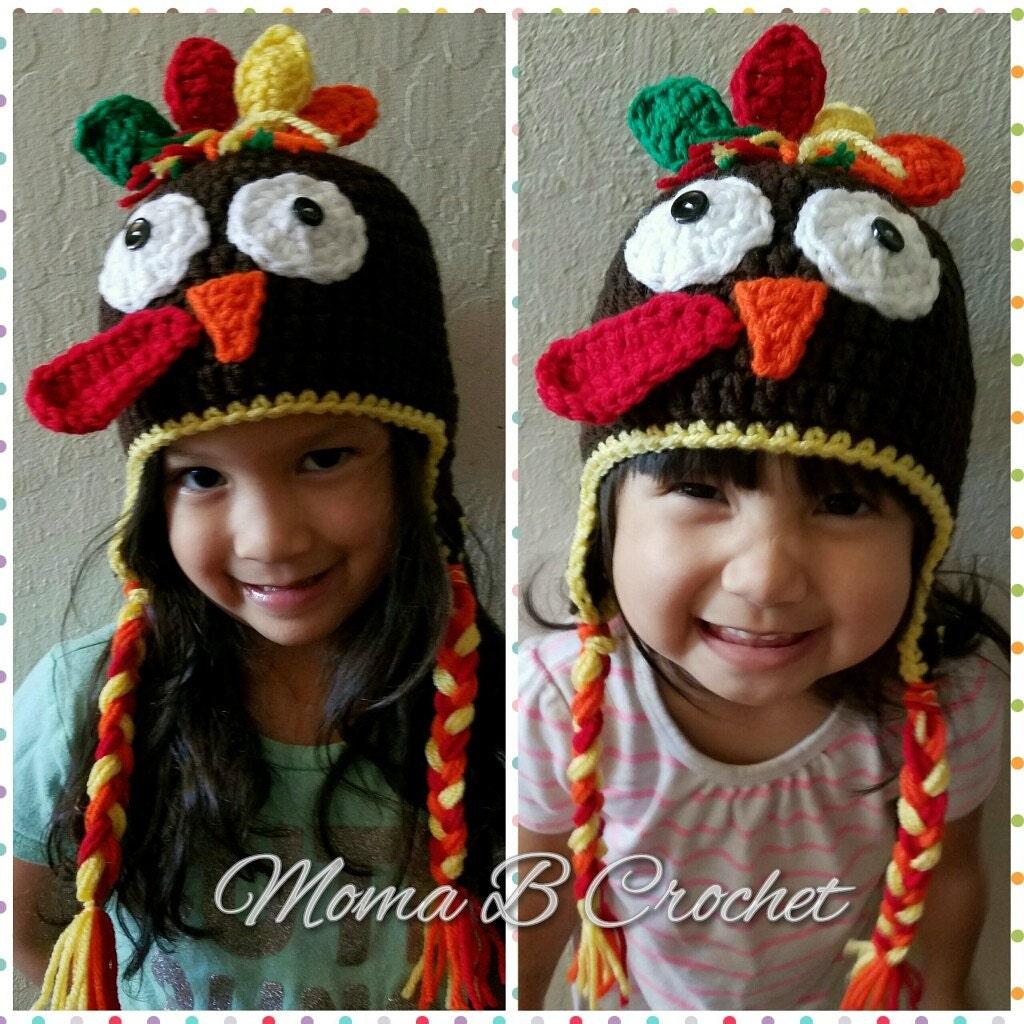 Crochet turkey hat turkey hat thanksgiving hat baby turkey zoom bankloansurffo Gallery