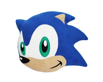 Sonic The Hedgehog Face Plush Pillow