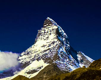 Photo Art, Photographic Print, Matterhorn, Matterhorn mountain pictures, Matterhorn Photographs, Matterhon Zermtt, Materhorn Europe