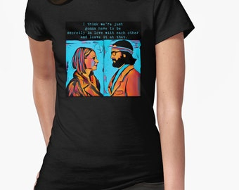 The Royal Tenenbaums Margot and Ritchie Shirt || Wes Anderson || Unisex Soft Tee | Quote t-shirt |Choose from 35 Colors | Gift