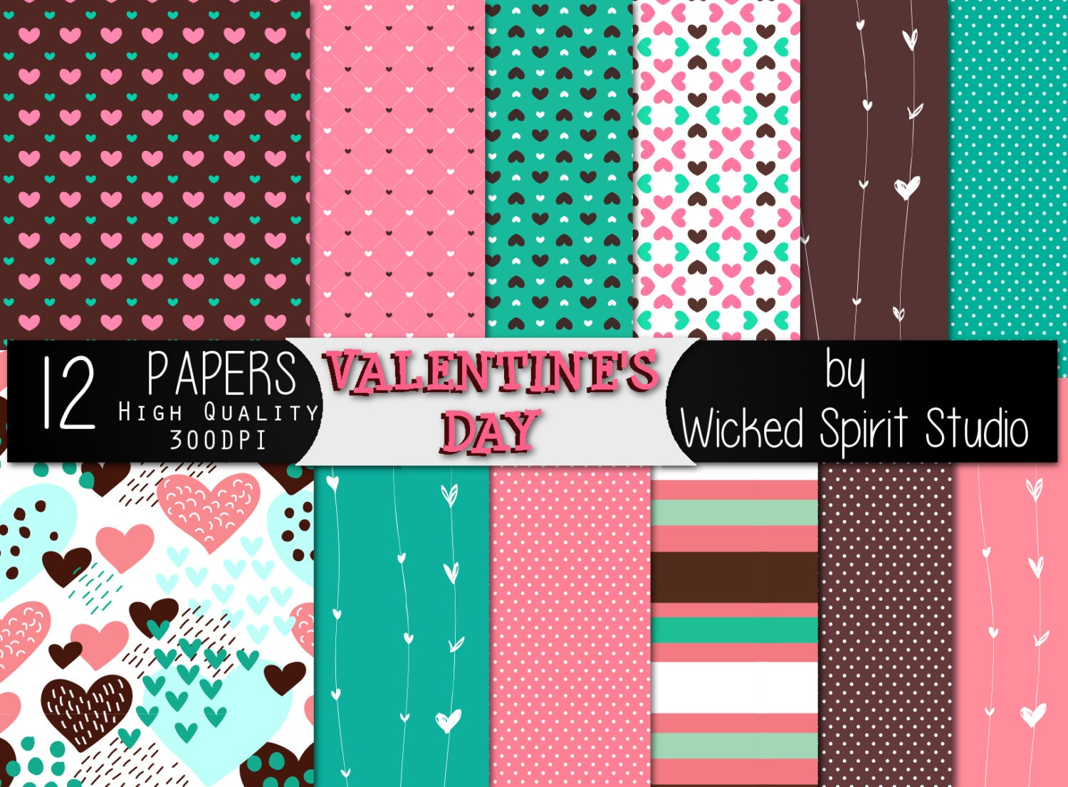 How to make scrapbook paper designs - This Is A Digital File
