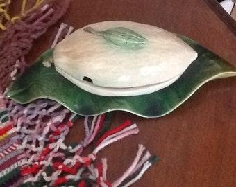 SALE:  Vintage Portugese Nut/Candy Dish