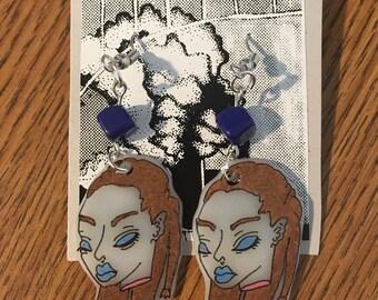 Alien Queen Earrings