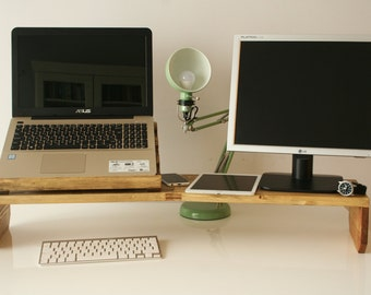 Wooden Laptop & Device Stand
