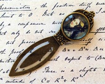 Ada Lovelace Bookmark -  Women in Science Bookmark, Ada Lovelace Gift, Heroine Bookmark, Vintage Science Gift, Computer Programing Bookmark