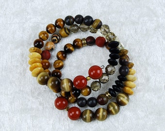 Bracelet in African colours