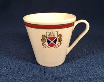 Farrell Lines Shipping Steamship South Africa Teacup or Demitasse Cup Ship China