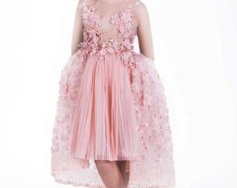 Haute Couture dress, wedding dress, flowergirl dress, wedding gown
