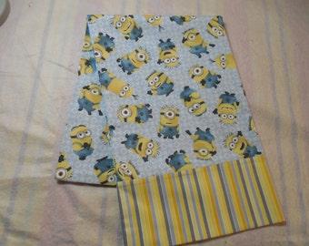 SALE!!!!!! Minion Pillowcase-Charater Pillowcase-Novelty Pilliowcase-Minion Decor-Minion Bedding-