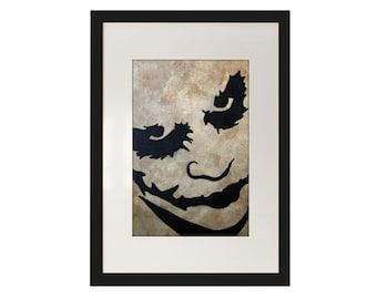 The Joker Framed Art