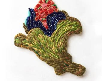 Pazuki | Large Flower Bud - Embroidery Patch